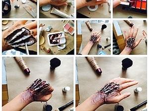 "Мастер-класс: ""Рука зомби"" куклы в стиле horror. Ярмарка Мастеров - ручная работа, handmade."