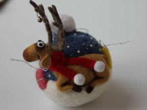 Новый новогодний шарик в моем магазине!. Ярмарка Мастеров - ручная работа, handmade.