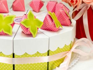Бумажный торт с пожеланиями своими руками. Оригинальная идея для подарка. Ярмарка Мастеров - ручная работа, handmade.