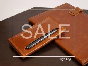 Кожаный кошелек лонгер со скидкой. Ярмарка Мастеров - ручная работа, handmade.