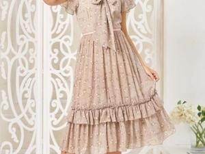 Аукцион на Шифоновое платье! Старт 2500 р.!. Ярмарка Мастеров - ручная работа, handmade.