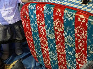 """Мастер-класс """"Декупаж чемодана"""" или """"Приключения желтого чемоданчика"""". Часть вторая.. Ярмарка Мастеров - ручная работа, handmade."""