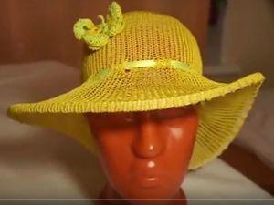 Видеоурок: вяжем шляпку на однофонтурной машинке Silver Reed LK-150. Ярмарка Мастеров - ручная работа, handmade.