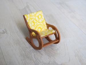 Видео  мастер-класс: делаем кресло-качалку, миниатюра. Ярмарка Мастеров - ручная работа, handmade.