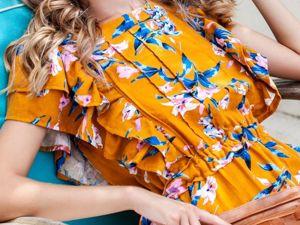 Летние платья: распродажа до 50%!. Ярмарка Мастеров - ручная работа, handmade.