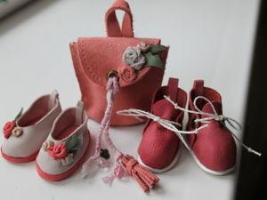 Создаем балетки без колодки из натуральной кожи для текстильной куклы. Ярмарка Мастеров - ручная работа, handmade.