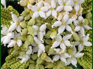 Делаем симпатичные цветочки из пряжи. Ярмарка Мастеров - ручная работа, handmade.