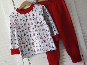 Новогодняя пижамка со скидкой 30%!. Ярмарка Мастеров - ручная работа, handmade.