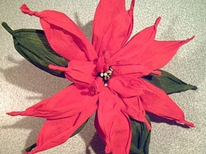 "МК  "" Рождественская звезда "". Ярмарка Мастеров - ручная работа, handmade."