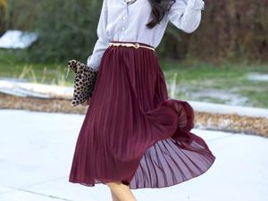 Pleated Skirt: What to Wear With?. Livemaster - handmade