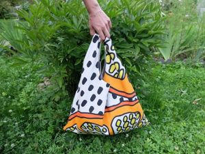 Craft Project on How to Sew a Two-Sided Shopping or Beach Bag. Livemaster - handmade