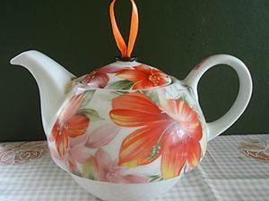 Спасение утопающего (или вынужденная реставрация чайника). Ярмарка Мастеров - ручная работа, handmade.