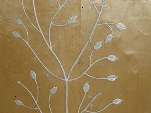 Вешалка напольная дерево. Ярмарка Мастеров - ручная работа, handmade.