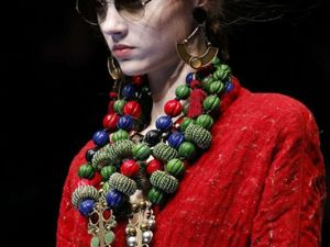 Winter is not for Bead Necklaces? Not This Winter!. Livemaster - handmade