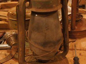 Новая жизнь старой керосиновой лампы. Ярмарка Мастеров - ручная работа, handmade.