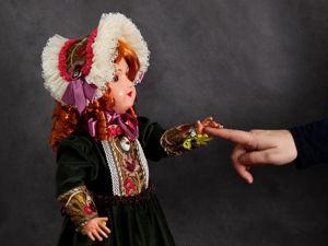 Антикварная французская кукла Изабель. Ярмарка Мастеров - ручная работа, handmade.