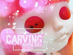 Карвинг куклы Блайз. Этап 2. Проект  «Рыжая бестия». Ярмарка Мастеров - ручная работа, handmade.