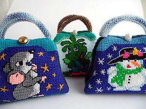 Изготовление сумочки-игольницы. Ярмарка Мастеров - ручная работа, handmade.