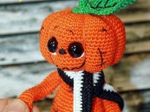 Вяжем стеснительную тыковку на Halloween. Ярмарка Мастеров - ручная работа, handmade.