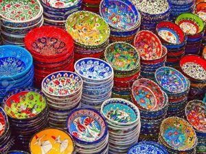 Турецкая керамика, эти милые чашечки! Впечатления и исследования. Ярмарка Мастеров - ручная работа, handmade.