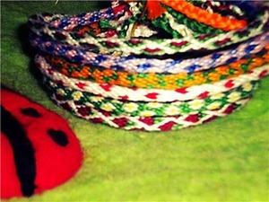 Как сплести японский шнур кумихимо. Ярмарка Мастеров - ручная работа, handmade.