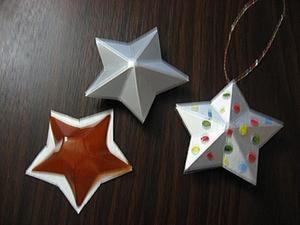 Звезды млечного пути. Создаем объемную звездочку из упаковки Tetra Pak. Ярмарка Мастеров - ручная работа, handmade.