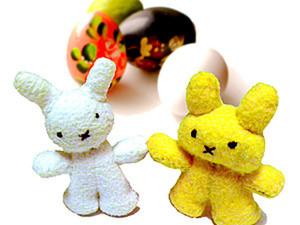 Пасхальные кролики Морковкина и Капусткин. Ярмарка Мастеров - ручная работа, handmade.