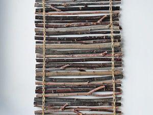 Creating a Home Decoration of Wooden Sticks. Livemaster - handmade