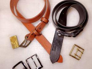 Мужской ремень: правила стиля и хорошего вкуса. Ярмарка Мастеров - ручная работа, handmade.