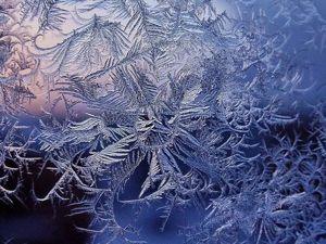 Имитируем художества природы: секреты «морозного узора» в витражной росписи стекла. Ярмарка Мастеров - ручная работа, handmade.