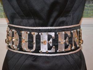 Пояс QUEEN  в стиле Dolcegabbana с кристаллами Сваровски. Ярмарка Мастеров - ручная работа, handmade.