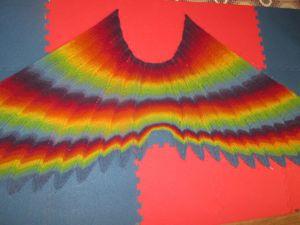 Экзотический шарф Wingspan от Кайли Вей. Ярмарка Мастеров - ручная работа, handmade.