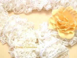 Видео мастер-класс: вяжем ажурный шарфик. Ярмарка Мастеров - ручная работа, handmade.