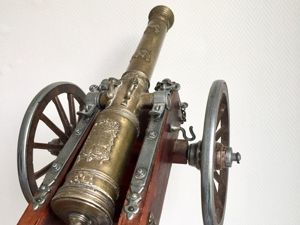 Винтажная реплика корабельной пушки. Ярмарка Мастеров - ручная работа, handmade.