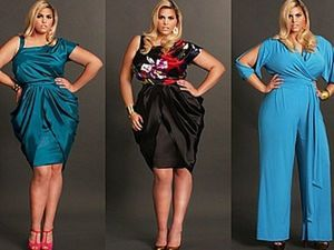 Plus Size Fashion: Examples of Great Evening Dresses. Livemaster - handmade