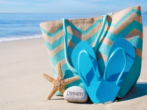 Beach Bag: Comfortable, Fashionable Rest. Livemaster - handmade