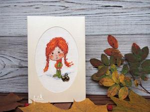 Новинки в магазине! Серия открыток  «Детство». Ярмарка Мастеров - ручная работа, handmade.