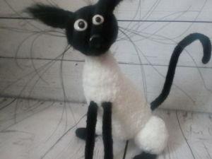 Вяжем забавного кота КошМартика. Ярмарка Мастеров - ручная работа, handmade.