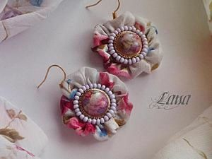 How to Make Earrings Sunrise in Paris, or One More Feature of Buttons. Livemaster - handmade