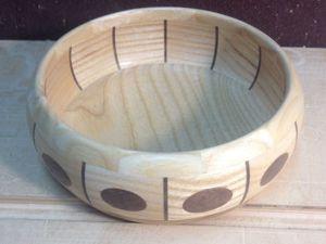 Делаем оригинальную пиалу из двух видов дерева. Ярмарка Мастеров - ручная работа, handmade.