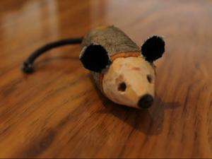Делаем мышонка из дерева. Ярмарка Мастеров - ручная работа, handmade.