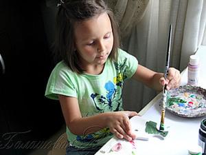Мастер-класс «Чем занять ребенка, или Основы декупажа». Ярмарка Мастеров - ручная работа, handmade.