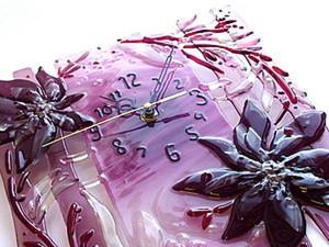 Создаем часики «Лиловое настроение». Ярмарка Мастеров - ручная работа, handmade.