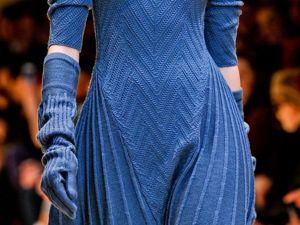 Роскошный синий. Ярмарка Мастеров - ручная работа, handmade.