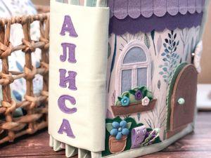 Кукольный домик, спальня. Ярмарка Мастеров - ручная работа, handmade.