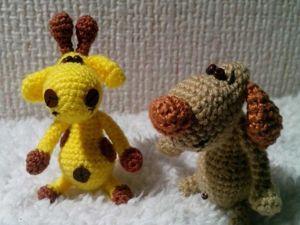 Вяжем забавное мини-животное — собачку амигуруми. Ярмарка Мастеров - ручная работа, handmade.
