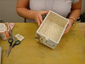 Видео мастер-класс по декорированию заготовки тканью. Ярмарка Мастеров - ручная работа, handmade.