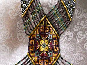Бисерное ткачество: создаем красочный гердан. Ярмарка Мастеров - ручная работа, handmade.