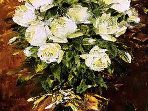 Юбилейные розы. Ярмарка Мастеров - ручная работа, handmade.