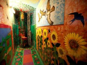 Живет сказка в подъезде, или Необычные подъезды. Ярмарка Мастеров - ручная работа, handmade.